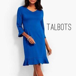 Flounce Sheath Dress by Talbots - Sz. 8